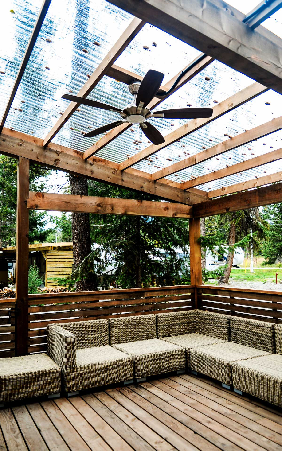 the best deck in windermere stw builders invermere bc