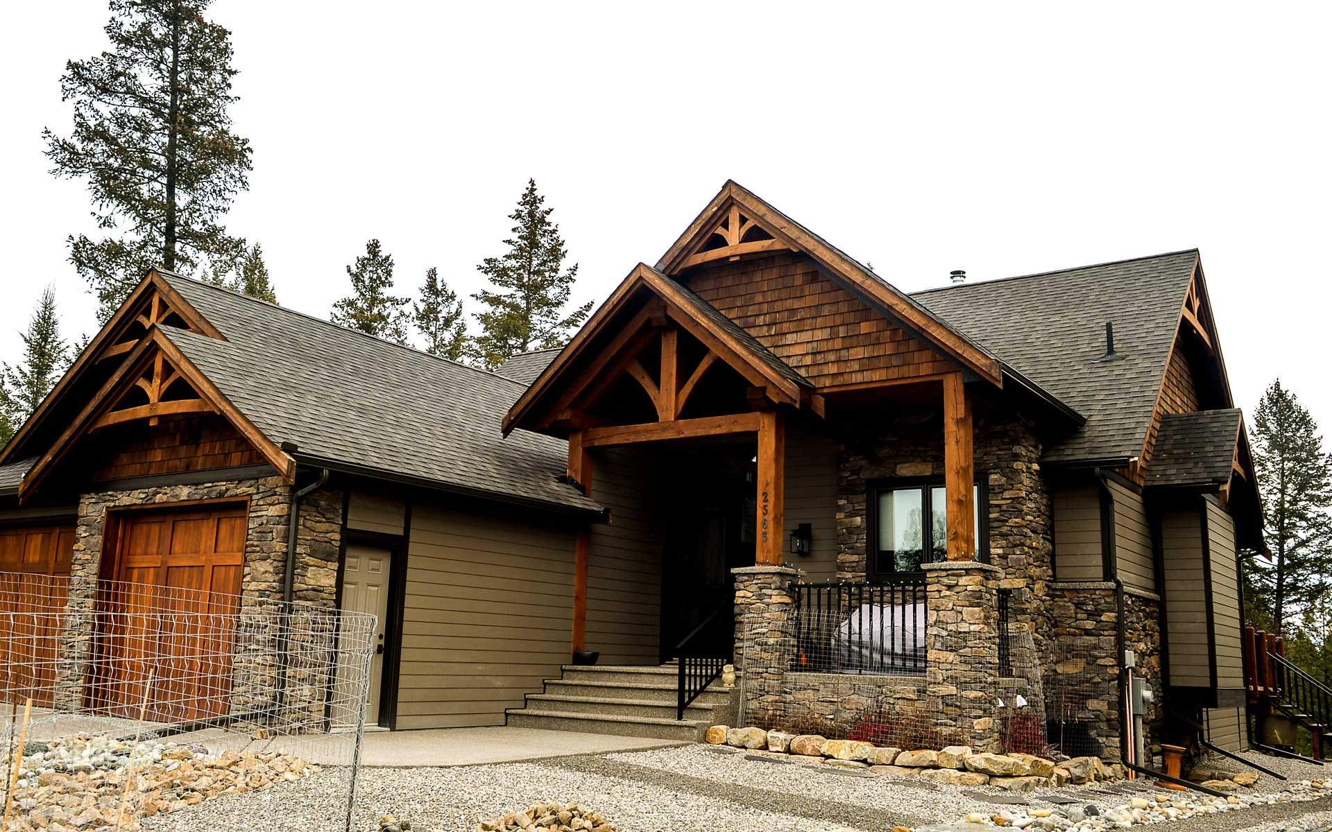 Custom home in castle rock stw builders invermere bc for Castle home builders